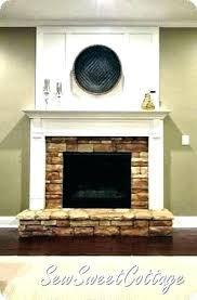 redo brick fireplace stepsoffaith me