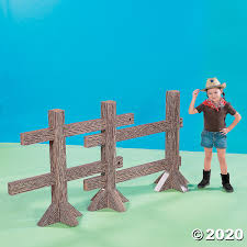 Split Rail Fence Post Cardboard Stand Up Oriental Trading