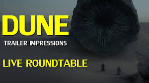 Dune 2020 Trailer Reaction Live - YouTube