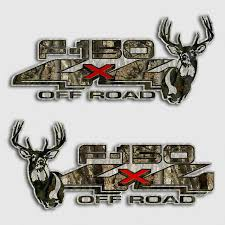 Ford F 150 Whitetail Deer Camouflage Truck Decals Off Road Sticker