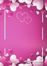 simple love romantic balloon background