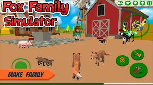 🦊Fox Family Animal Simulator 3d Game ...