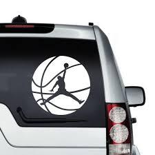 Jump Man Michael Jordan Car Window Laptop Vinyl Decal Sticker Basketball Player Michael Jordan Car