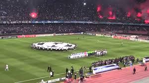 Napoli-Bayern Monaco. Inno Champions League - YouTube