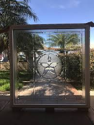 magnificent 46 x 48 beveled texas lone