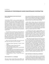 Front Matter Performance Based Contracting For Maintenance The National Academies Press