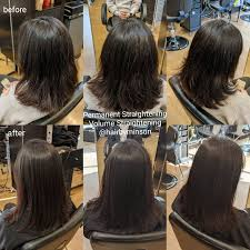 permanent straightening vs keratin