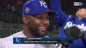 Royals' Abraham Almonte: 'Coming back ... it's a good feeling ...