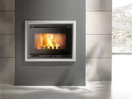 wood burning cast iron fireplace insert