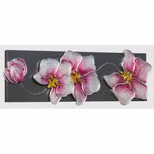 pintdecor orchidea argento wall art