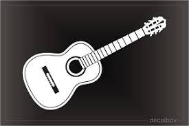 Guitar Decals Stickers Decalboy
