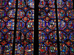sainte chappele stained glass windows