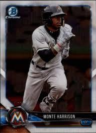 Amazon.com: Baseball MLB 2018 Bowman Draft Chrome #BDC-71 Monte Harrison  Marlins: Collectibles & Fine Art