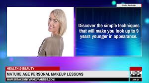 personal makeup lessons perth