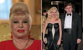 Donald Trumps ex-wife Ivana branded a 'bigot' for 'disturbing' comments on  US immigration | Daily Mail Online