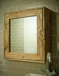 bathroom cabinet wood natural eco