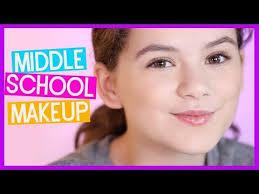 middle makeup tutorial back