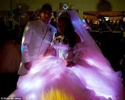 big fat gypsy wedding dress lights