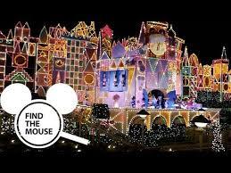 small world holiday disneyland 2018