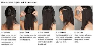 natural human hair weft extension