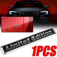 Universal 3d Metal Limited Edition Car Decal Auto Emblem Side Badge Sticker Archives Statelegals Staradvertiser Com