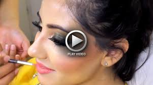indian bridal makeup tutorial with