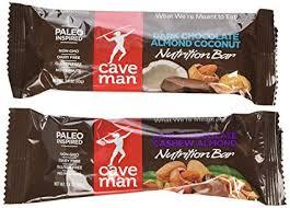 caveman nutrition bars