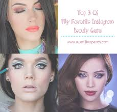 makeup gurus to follow on insram
