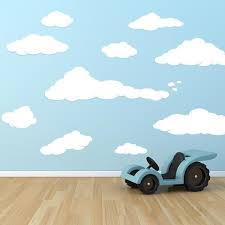 Cloud Decals Cloud Stickers For Walls Wall Decal World