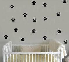 Cat Paw Print Decals Pet Animal 1 5 Or 2 5 Wall Window Floor Stickers Big Set Ebay