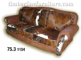 cowhide sofas couches home the honoroak