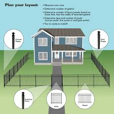 Hampton Fences Residential Fencing Aluminum Fence Systems