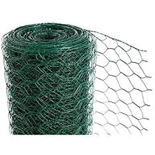 Crazygadget Chicken Wire Mesh Rabbit Animal Fence Green Pvc Coated Steel Metal Garden Netting Fencing 25m 0 9m X 25m Hole Size 25mm Amazon Co Uk Garden Outdoors