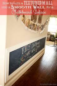 kids chalkboard art wall how to turn a