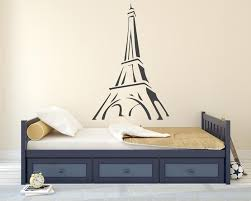 Minimalist Eiffel Tower Wall Decal Egraphicstore