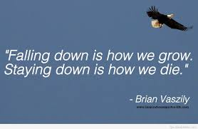 falling down inspirational quote