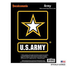 U S Army Large Vinyl Decal Sticker