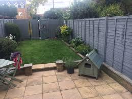 Forest Pine Cuprinol Painted Garden Sheds Garden Fence Paint Back Garden Design