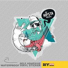 Vape Hipster Man Cloud Tattoo E Cig Vinyl Sticker Decal Window Car Van Bike 2135 Archives Midweek Com