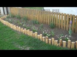 Diy Fence From Bamboo Restyle Your Garden Easy Diy Bed Hedge Kiyari Terrace Garden Youtube