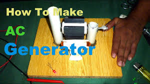 ac generator simple diy project with