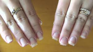 adding strength to natural nails using