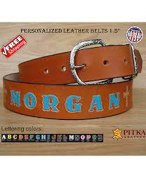 british tan leather belts custom