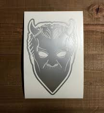 Ghost Band Nameless Ghouls Mask Decal Ghoul Ghost Vinyl Decals