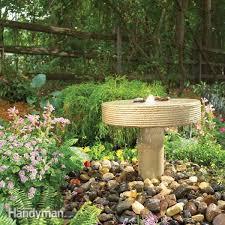 outdoor fountains the family handyman