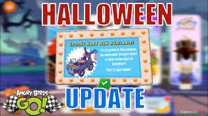 Angry Birds Go - HALLOWEEN UPDATE - NEW SPOOKY CART - YouTube