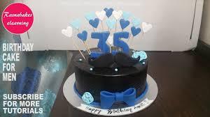 birthday cake for men gift for him