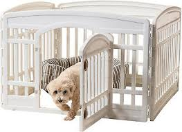 24 Small Dog Exercise Playpen Portable Plastic Indoor Outdoor Puppy Pet Fence Ebay
