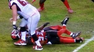 Bucs LB Adarius Glanton Carted Off Field After Gruesome Leg Break ...
