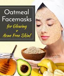 oatmeal face mask recipes for glowing